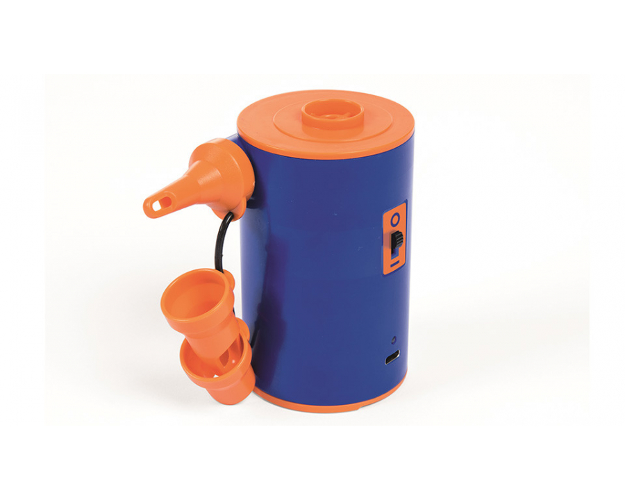 JZUO Pompe /à air Gonflable /électrique de Pompe Rechargeable pour Matelas Gonflable de lit pneumatique de Kayak de Bateau Haute Puissance AC//Voiture 12V